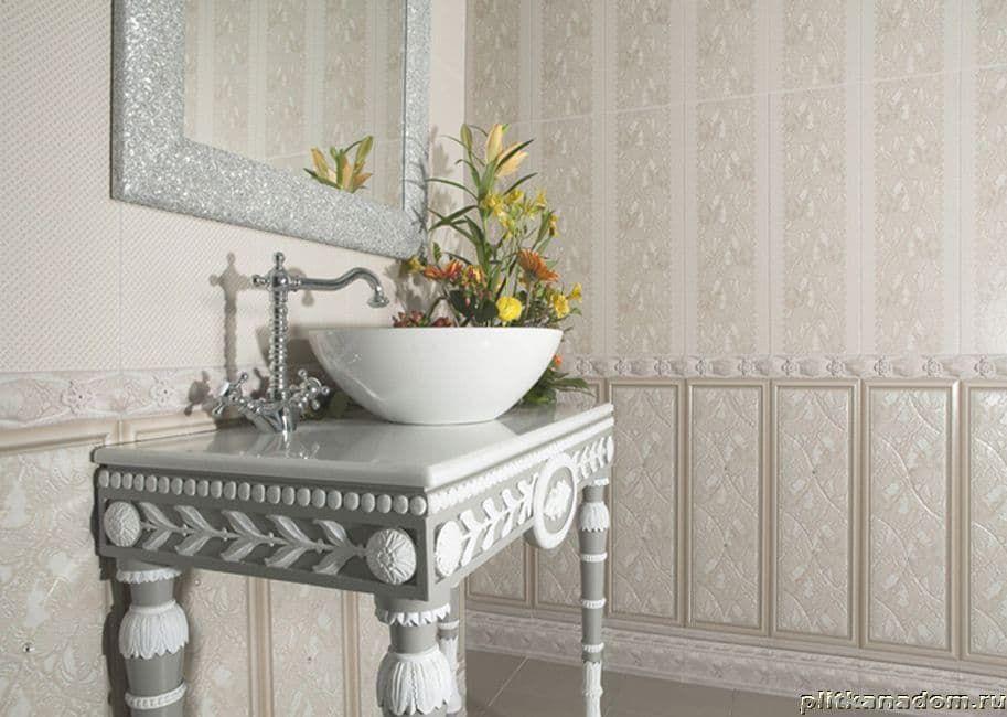 Плитка для ванны с кружевами