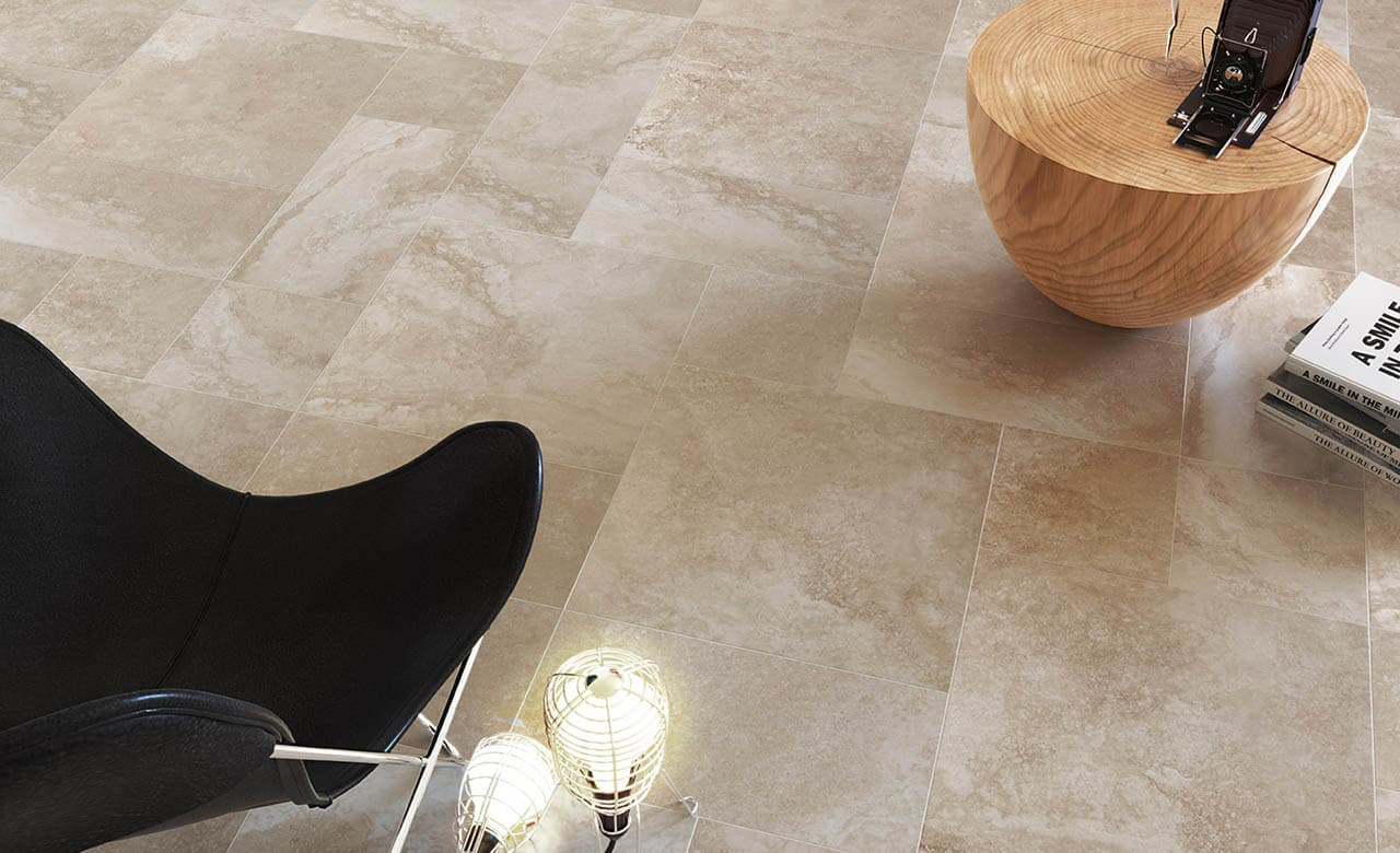 Soft ceramic tile