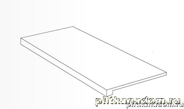 Atlas Concorde Cementi Light Grey Scalino Ступень 33x60