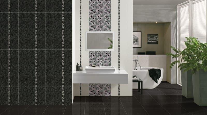 black white black white cersanit. Black Bedroom Furniture Sets. Home Design Ideas