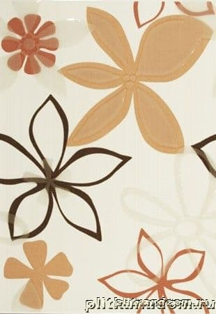 Azulejos Alcor Annecy Orange s Crema Декор 31х45