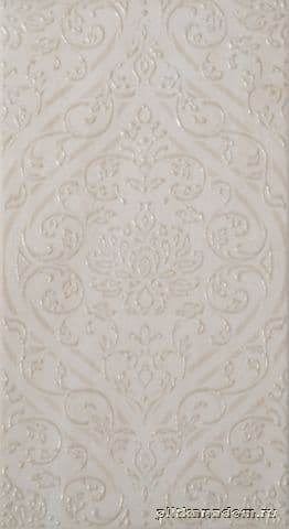 British Ceramic Tile Balmoral Damask Wall Декор 24,8x49,8