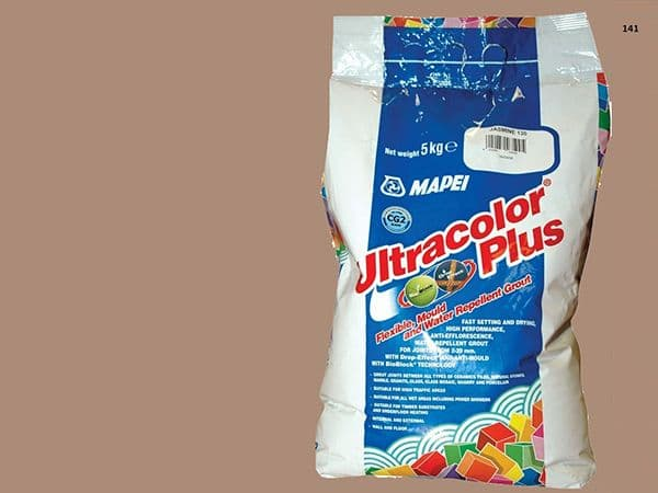 Mapei Ultracolor Plus №  141 затирочная смесь (Карамель) 5 кг