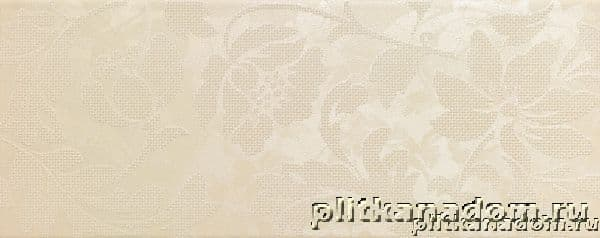 Italon Touch Beige Inserto Flower Декор 20х50