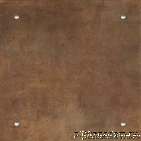 Atlas Concorde Cementi Toffee Brown 45 Inserto Borchia4 Декор 45x45