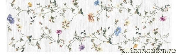 Atlanic Tiles Nieve Brillo Flowers Декор 90х30
