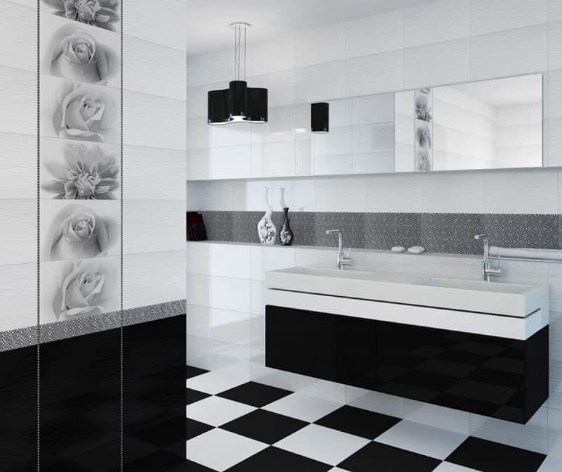 Плитка для ванной комнаты дизайн камелия