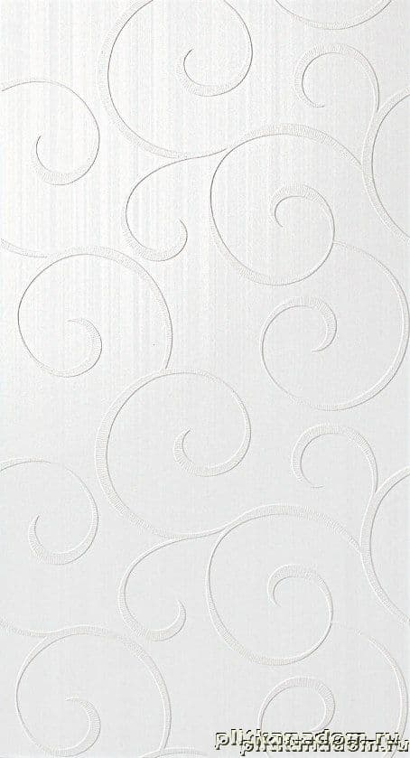 Atlas Concorde Radiance White Damask Декор 30,5x56