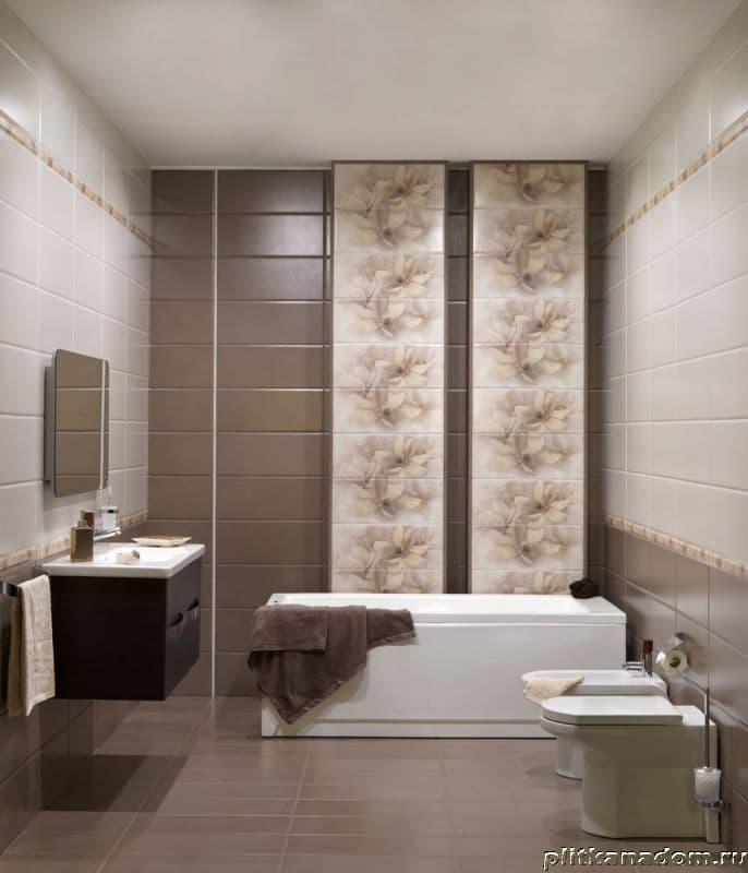 Керамическая плитка для ванной дизайн светлых тонов